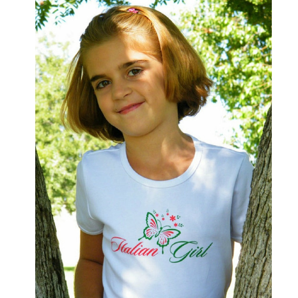 """Italian Girl"" Youth girl's T-shirt"