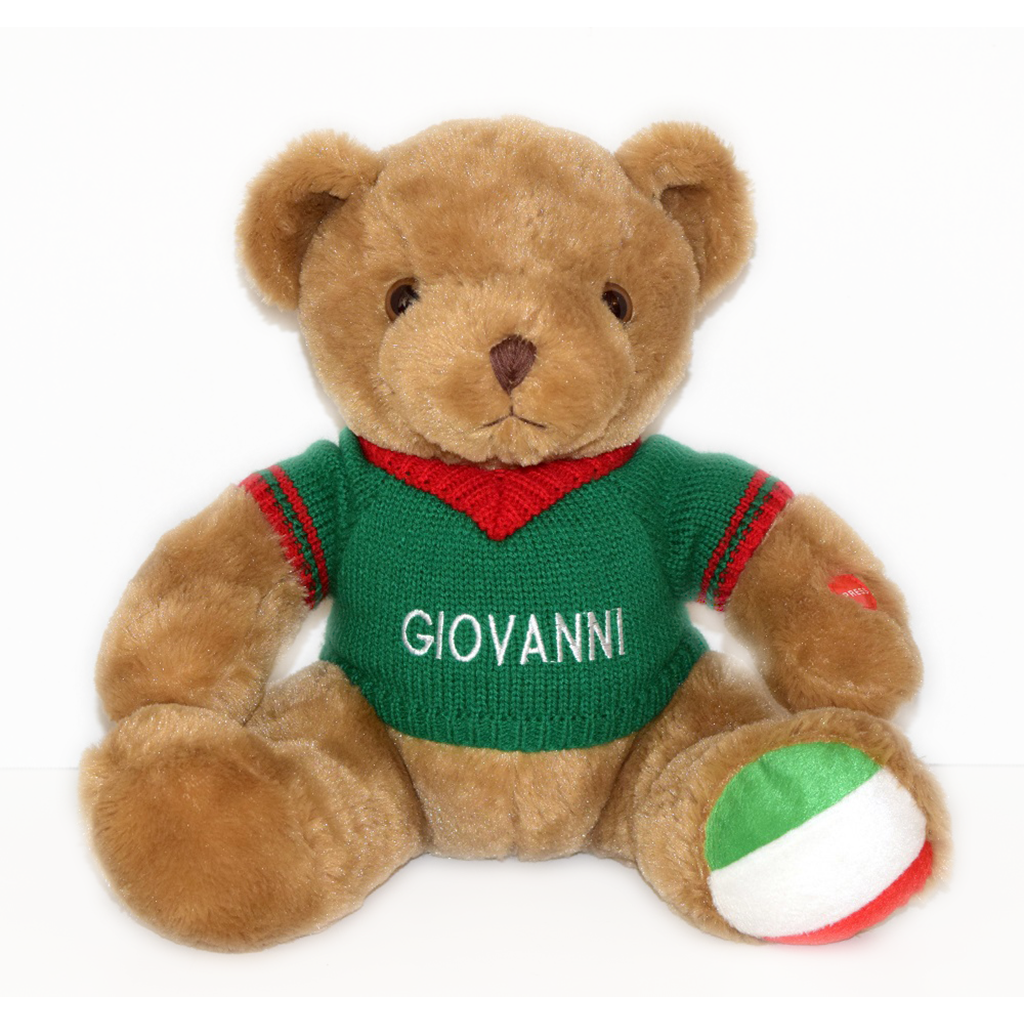 Giovanni the Italian Speaking Bear MORE ON THE WAY SOON!!