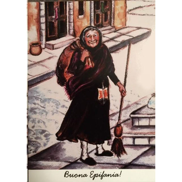 Viva La Befana Greeting Card