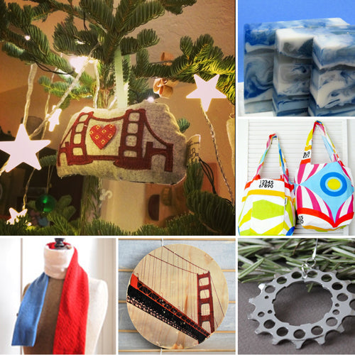 Handmade Santa spread the love this year with stocking stuffer gifts from Seattle & the Bay Area!