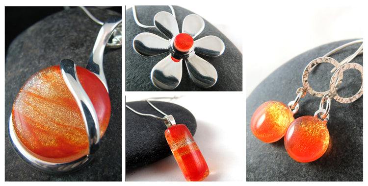 Glass Elements jewelry inspired by the Midsummer Celebration.