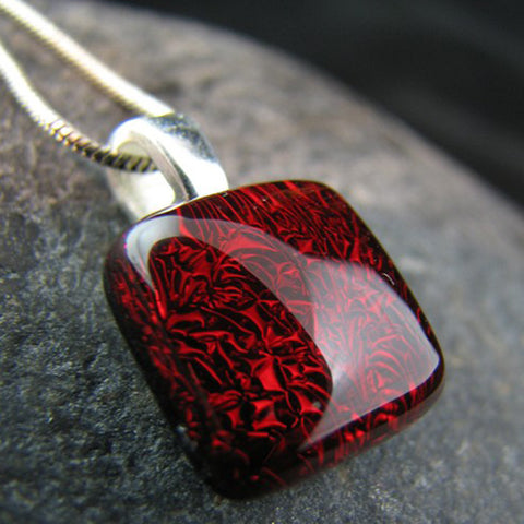 Simple Square Pendant - You Choose the Color
