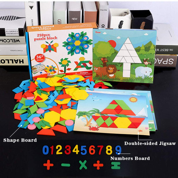 250 Pieces Wooden Jigsaw Puzzle