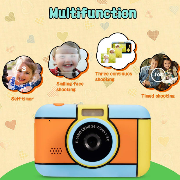 Kids Camera Toys for 4-8 Year