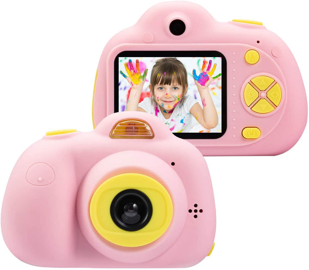 Kids Camera for 4-8 Year Old Girls(16G SD Card Included)