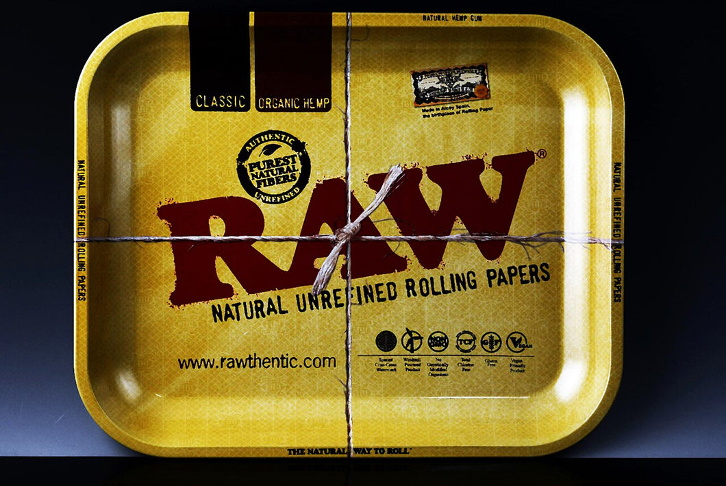 Large Metal Raw Rolling Tray
