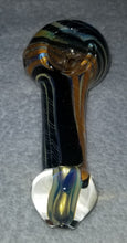 "Load image into Gallery viewer, 3"" Fumed Dichro Hand Pipe"
