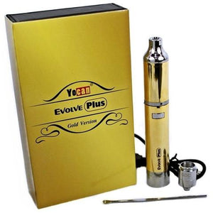 YOCAN EVOLVE PLUS GOLD EDITION WAX VAPORIZER