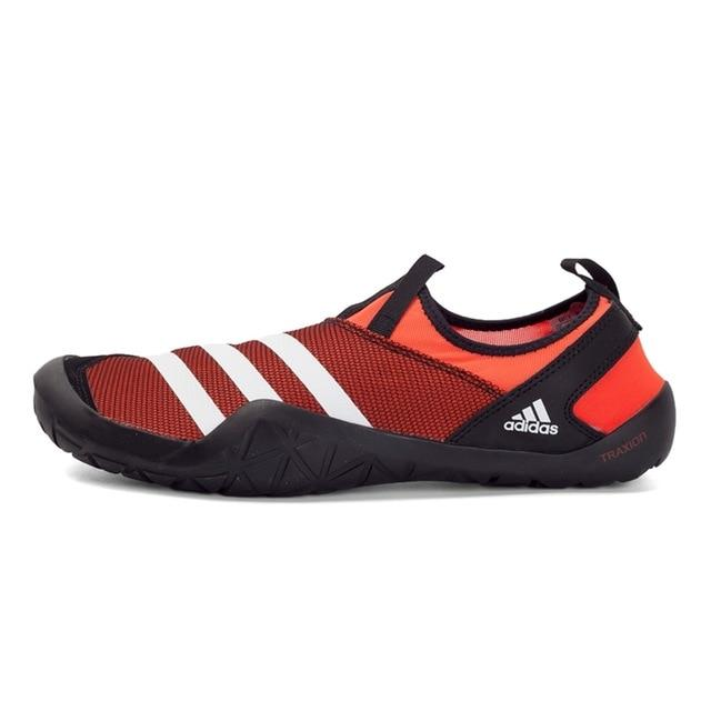 Original New Arrival Official Adidas Climacool JAWPAW Slip On Men's Aqua Shoes Outdoor Sports Sneakers