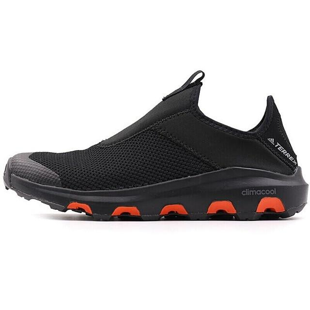 Official New Arrival Adidas TERREX CC VOYAGER SLIP ON Men's Aqua Shoes Outdoor Sports Sneakers