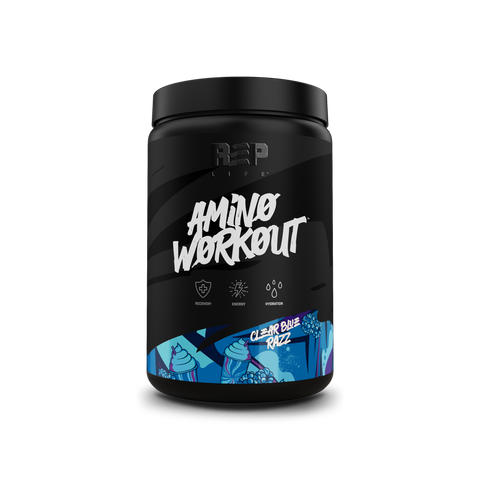 Amino Workout Powder - Clear Blue Razz