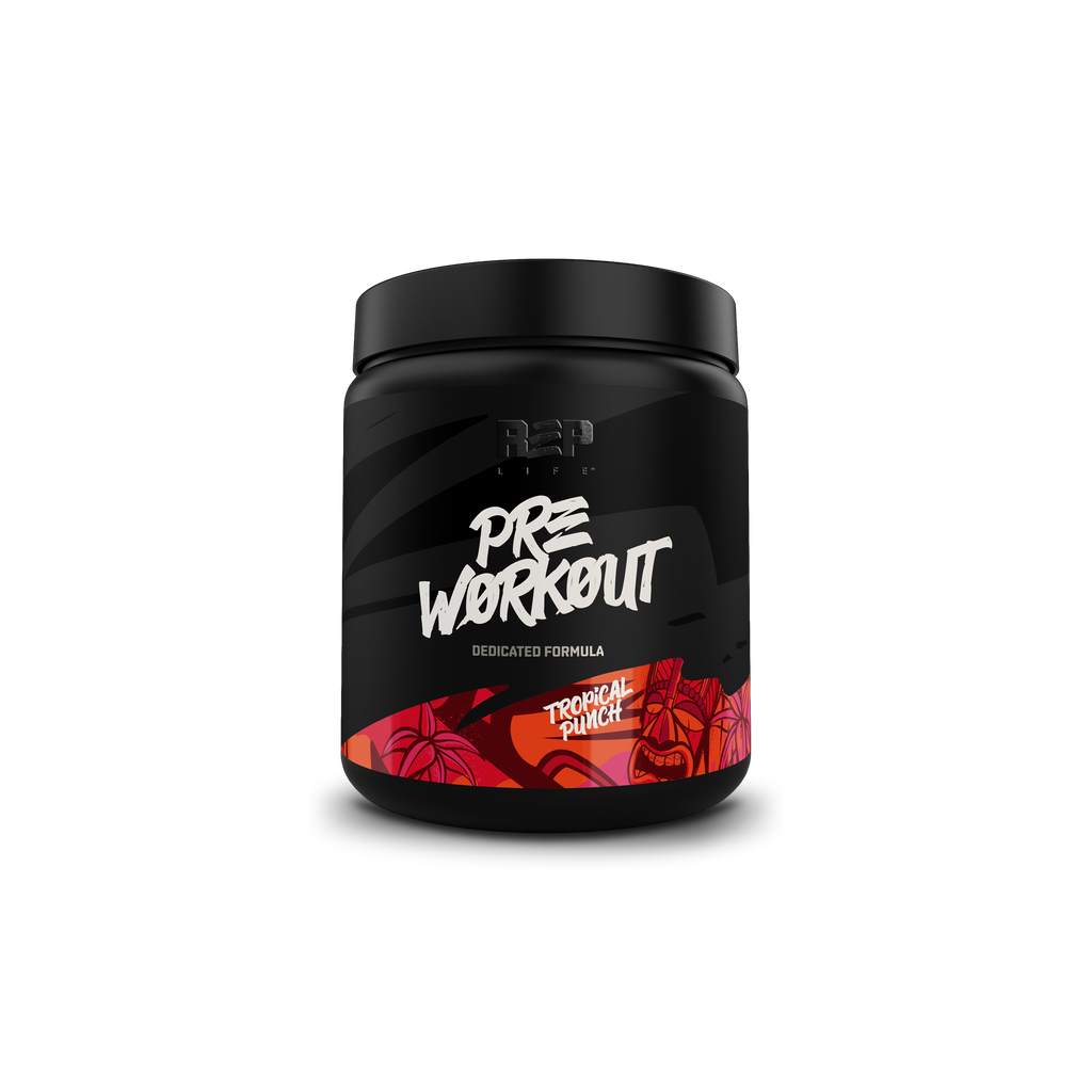 Pre-Workout Powder - Tropical Punch