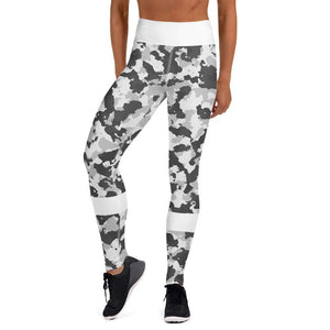Legging camouflage neige - Taille haute