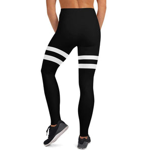 Legging King warrior blanc