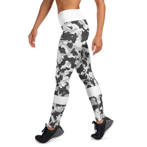 Leggings camouflage neige