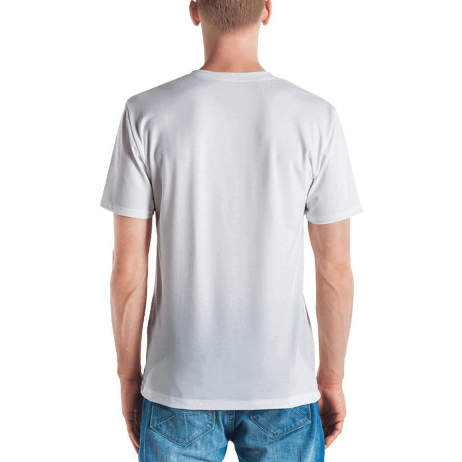 T-shirt Casual King - blanc