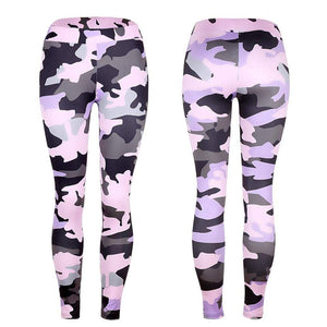 Yoga Pants Fitness Sport Camouflage