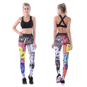 Yoga Pants Fitness Sport Dessiné