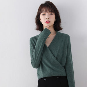Her Shop 100% Pure Wool Knitted Sweater