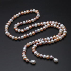 Her Shop accessories multi pearl 100% Genuine Freshwater Pearl Necklace