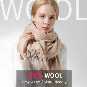Her Shop accessories 100% Pure Wool Scarf