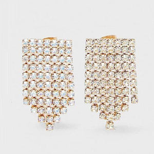 Her Shop accessories 31 Crystal Long Earrings For Women
