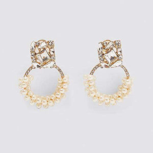 Her Shop accessories 8 Crystal Long Earrings For Women