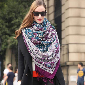 Her Shop accessories Fashion Luxury Brand Pashmina Scarf