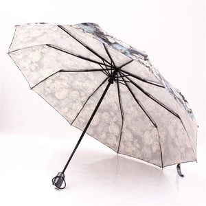 Her Shop accessories FULLY AUTOMATIC COMPACT ANTI-UV RAIN SUNSHINE WINDPROOF UMBRELLAS FOR FASHION LADIES