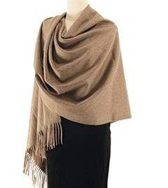 Her Shop accessories Natural Hot Sale All-Match Men Women Solid Color Luxurious Elegant Cashmere Scarves With Tassel