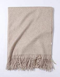 Her Shop accessories Light natural Hot Sale All-Match Men Women Solid Color Luxurious Elegant Cashmere Scarves With Tassel