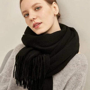 Her Shop accessories Luxury Pure Wool Winter Scarf & Shawl