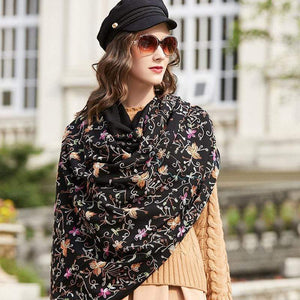 Her Shop accessories Luxury  Women's Elegant Wool  Scarves