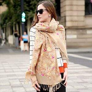 Her Shop accessories Other Luxury  Women's Elegant Wool  Scarves