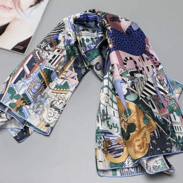 Her Shop accessories NEW 100% Silk Scarf Shawl