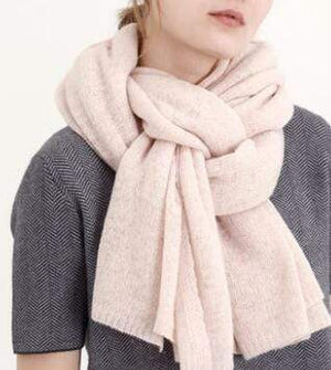 Her Shop accessories Pink New Design Brand Elastic Cashmere  Scarf