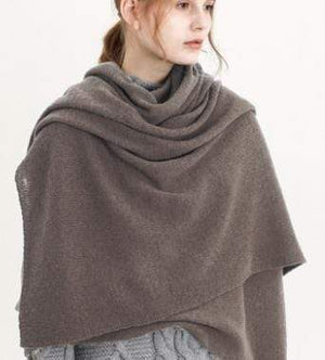 Her Shop accessories Coffee New Design Brand Elastic Cashmere  Scarf
