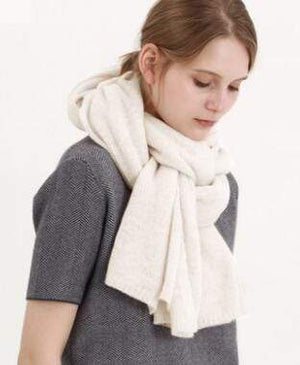 Her Shop accessories White New Design Brand Elastic Cashmere  Scarf