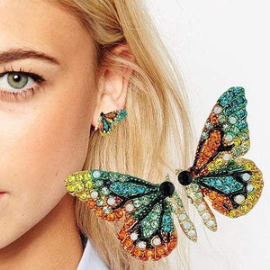Her Shop accessories New European and American Fashion Butterfly Ear Nail