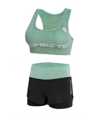 Her Shop activewear 2 piece set 5 / S High waist pants+hooded coat+t shirt+bra+pants women yoga/running  5 pieces set