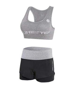 Her Shop activewear 2 piece set 1 / S High waist pants+hooded coat+t shirt+bra+pants women yoga/running  5 pieces set