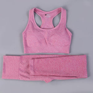 Her Shop activewear pink summer set / S / CHINA Hot Sale Women Gym/Yoga  Suit