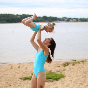 Her Shop activewear New Parent-child One Piece Swimsuit