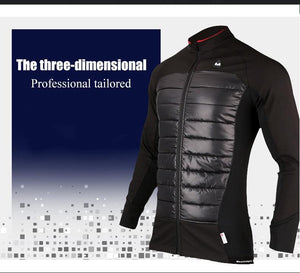 Her Shop activewear Windproof Anti-sweat Autumn & Winter Bike Cycling Jersey