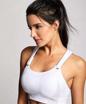 Her Shop activewear Women's High Impact Wire Free Full Coverage Lightly Padded Sports Bra