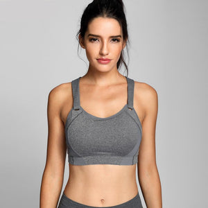 Women's High Impact Wire Free Full Coverage Lightly Padded Sports Bra