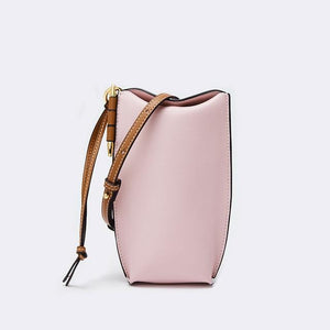 Her Shop bag 4 / 20x9x4 cm Genuine Leather Bucket Bag