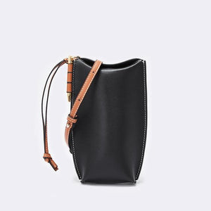 Her Shop bag 3 / 20x9x4 cm Genuine Leather Bucket Bag