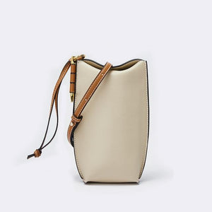 Her Shop bag 5 / 20x9x4 cm Genuine Leather Bucket Bag