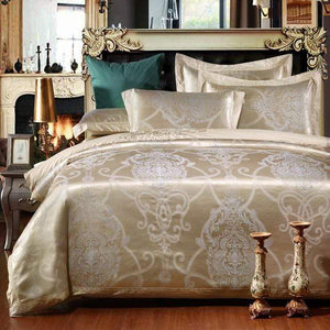 Her Shop Bedding Such as pictures 2 / King Embroidered Pillowcase Duvet Cover bed sheets